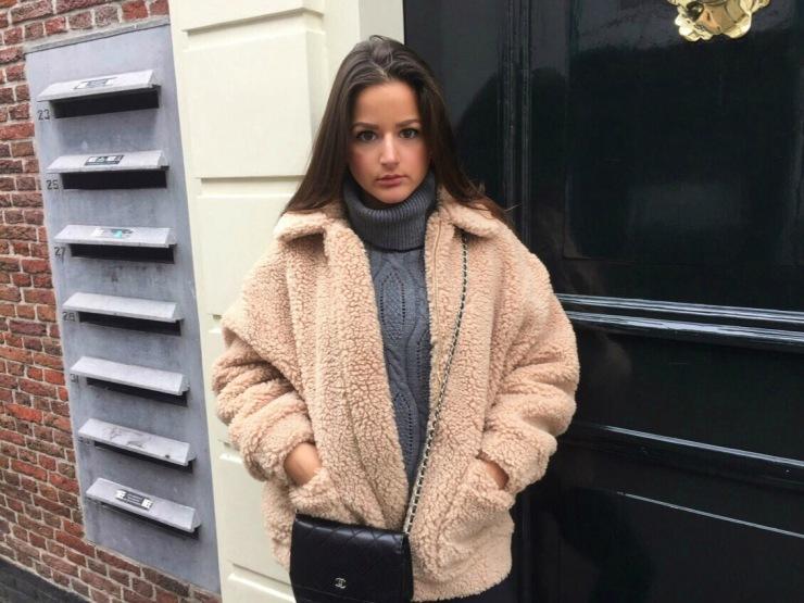 Teddy coat Biljana Pupovac